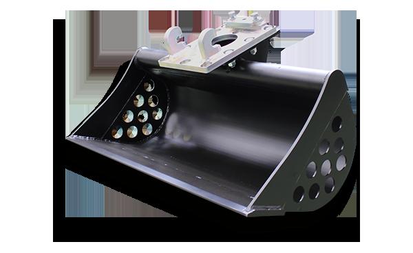 ditch bucket - professional equipment - energreen america - professional machines