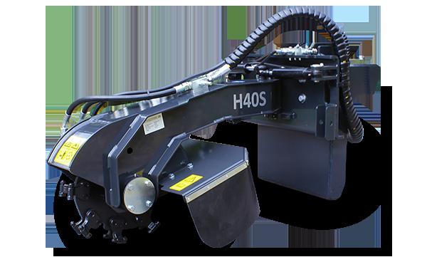 stump grinder - professional equipment - energreen america - professional machines