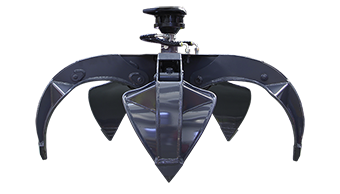 orange peel grapple - professional equipment - energreen america - professional machines