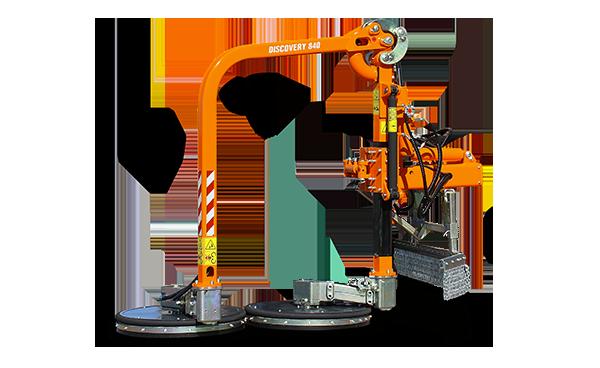 raiber discovery - professional equipment - energreen america - professional machines