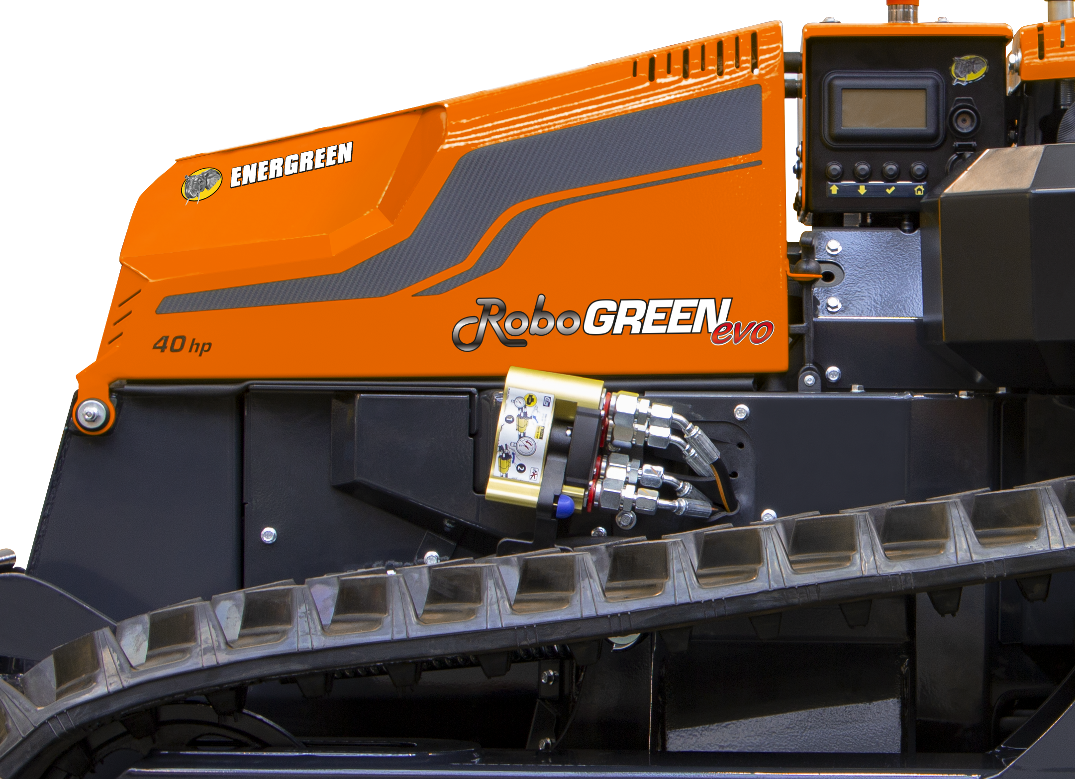 robogreen evo - connection plate - energreen america professional machines