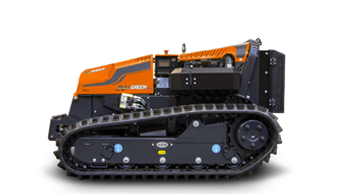 robogreen evo - remote controlled mulcher - energreen america professional machines