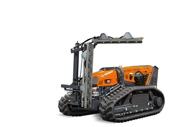 robomax - dual blade hedge trimmer - energreen america professional machines
