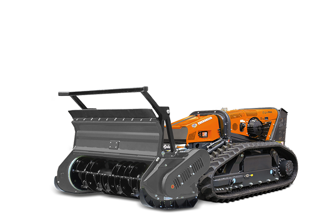 robomax - forestry head rotary hammer - energreen america professional machines