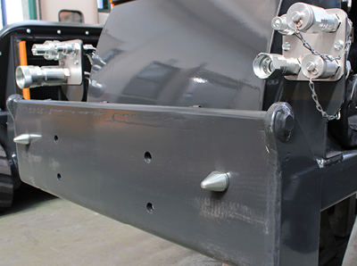 robomax - front lift attachment - energreen america professional machines