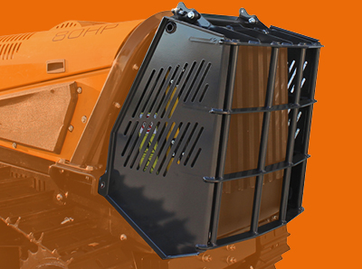 robomax - radiator protection - energreen america professional machines