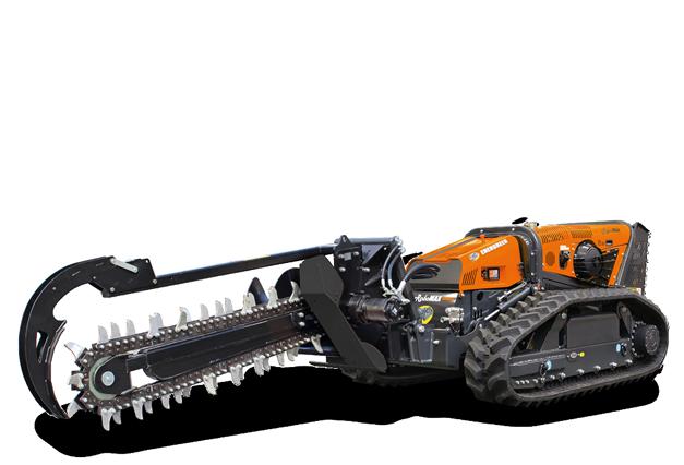 robomax - trencher 1500 - energreen america professional machines