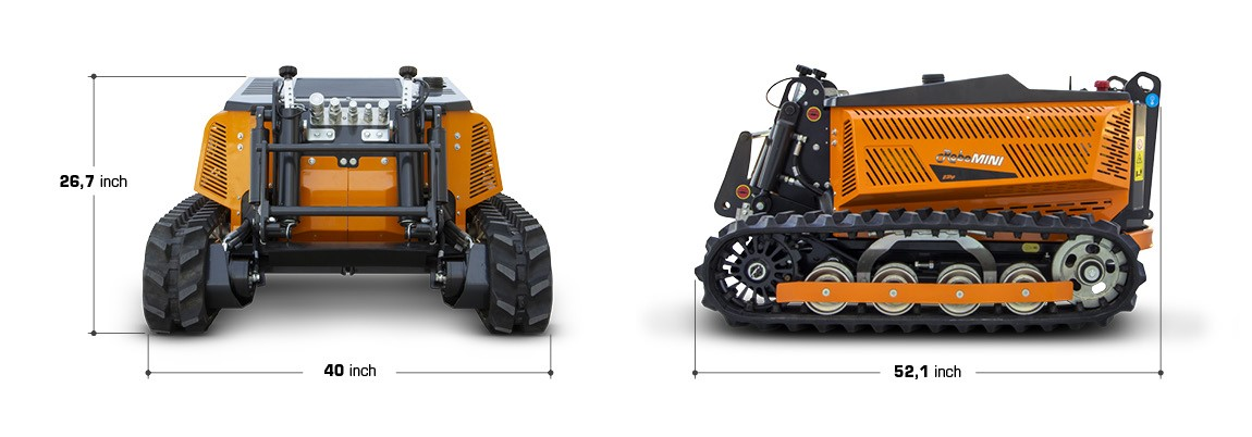 robomini technical data and dimension energreen america professional machines
