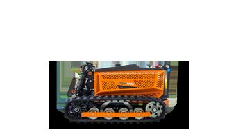 robomini - robot radiocontrolled mower - energreen america professional machines