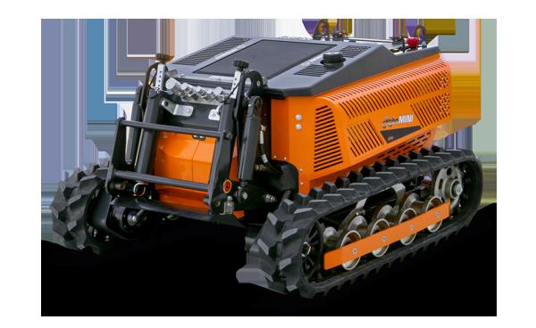 robomini - remote control grass cutter - energreen america professional machines