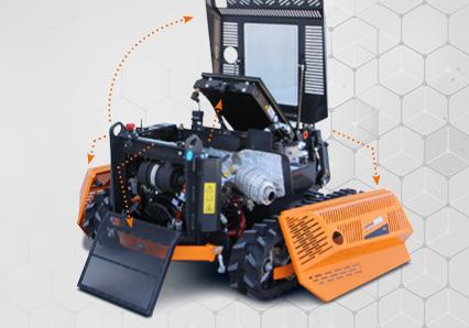 robomini - easy maintenance - energreen america professional machines