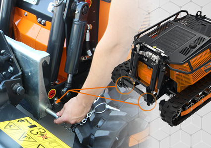 robomini - fast tool switching - energreen america professional machines