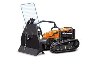 robogreen evo - forestry winch - energreen america professional machines