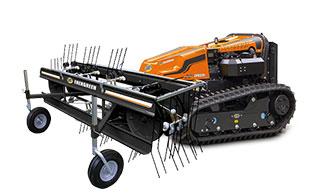 robogreen evo - rake - energreen america professional machines