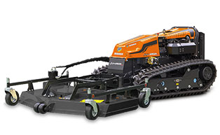 robogreen evo - rotary mower - energreen america professional machines