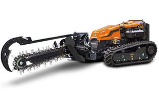 robogreen evo - trencher - energreen america professional machines