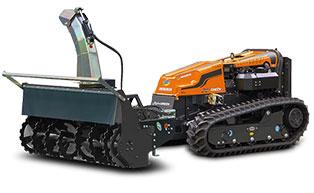 robogreen evo - snow blower - energreen america professional machines