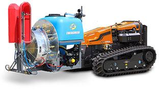 robogreen evo - sprayer - energreen america professional machines