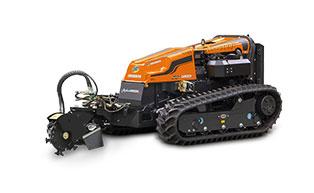 robogreen evo - stump grinder - energreen america professional machines