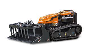 robogreen evo - grapple bucket - energreen america professional machines