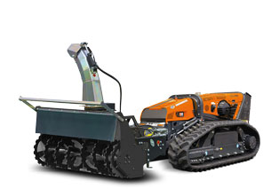 robomax - snow blower - energreen america professional machines