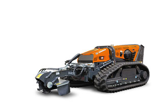 robomax - stump grinder - energreen america professional machines
