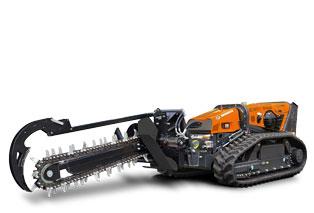 robomax - trencher - energreen america professional machines
