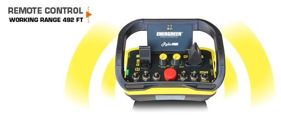 robomini - remote-control - energreen america professional machines