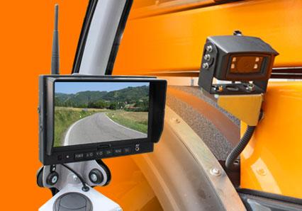 ilf kommunal - monitor with camera - energreen america professional machines