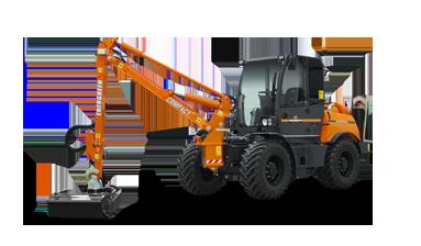 ilf kommunal - compact arm - energreen america professional machines