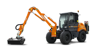 ilf kommunal - fast arm - energreen america professional machines