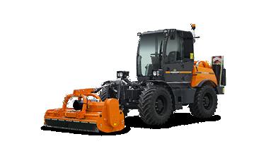 ilf kommunal - front mulcher - energreen america professional machines