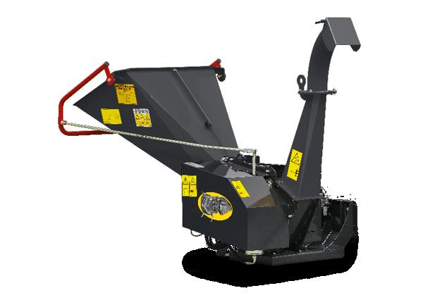 roboevo - equipment - chipper - bio shredder - energreen america professional machines