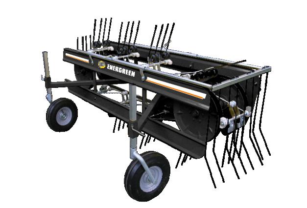 roboevo - equipment - rake - energreen america professional machines