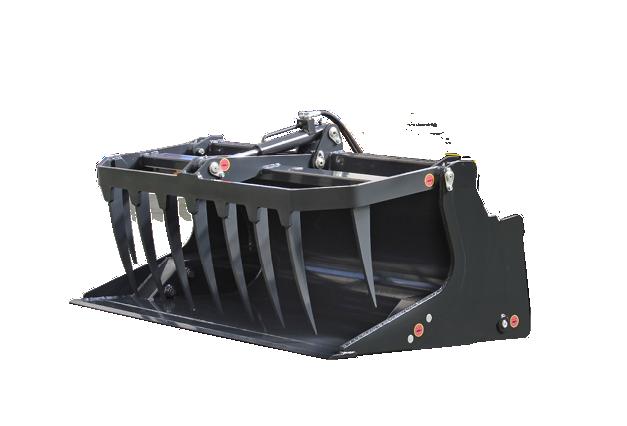 roboevo - equipment - grapple bucket - energreen america professional machines