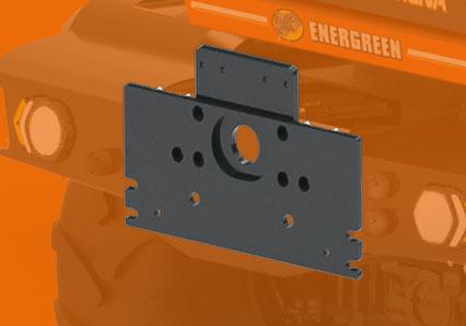 ilf alpha - din plate - energreen america professional machines