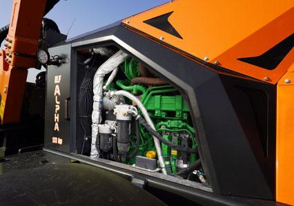 ilf alpha - john deere engine - energreen america professional machines