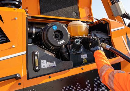 ilf alpha - refueling compartment - energreen america professional machines