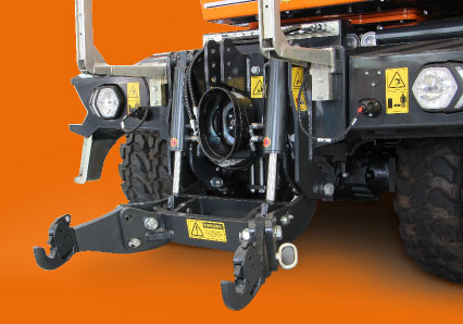 ilf athena - front attachment - energreen america professional machines