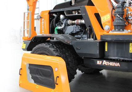 ilf athena - maintenance engine - energreen america professional machines