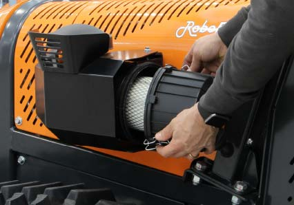 roboevo - air filter - energreen america professional machines