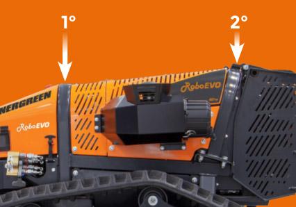 roboevo - double roll bar - energreen america professional machines