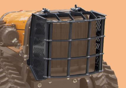 roboevo - radiator protection - energreen america professional machines