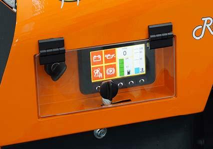 robomidi - colour display - energreen america professional machines