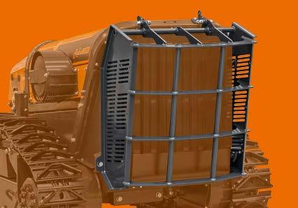 robomidi - steel radiator protection - energreen america professional machines