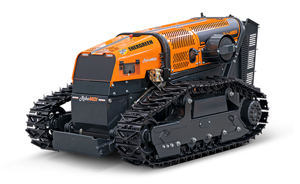 robomidi - radio controlled tools carrier - energreen america professional machines