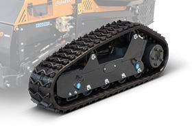 roboevo - studded tracks - remote controlled mower - energreen america professional machines