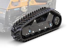 roboevo - super rubber tracks - remote controlled mower - energreen america professional machines