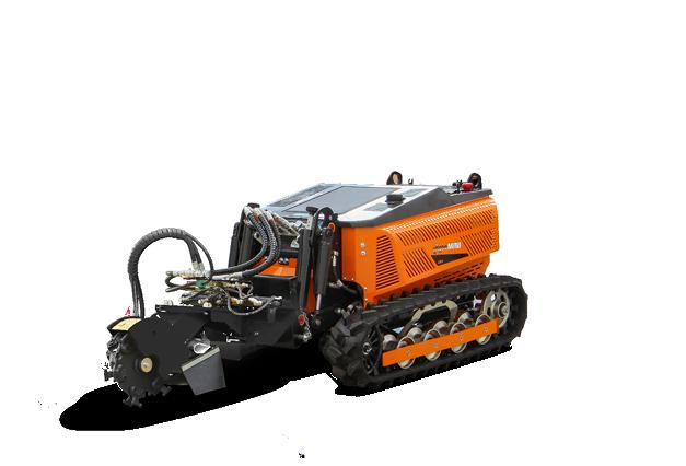 robomini - equipment - stump grinder - energreen america professional machines
