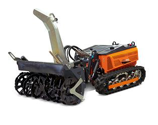 robomini - equipment - snow blower - energreen america professional machines